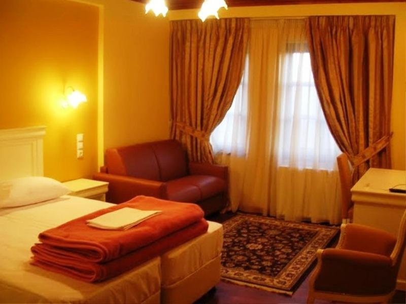 Triple Room with Mountain View Hotel Monodendri