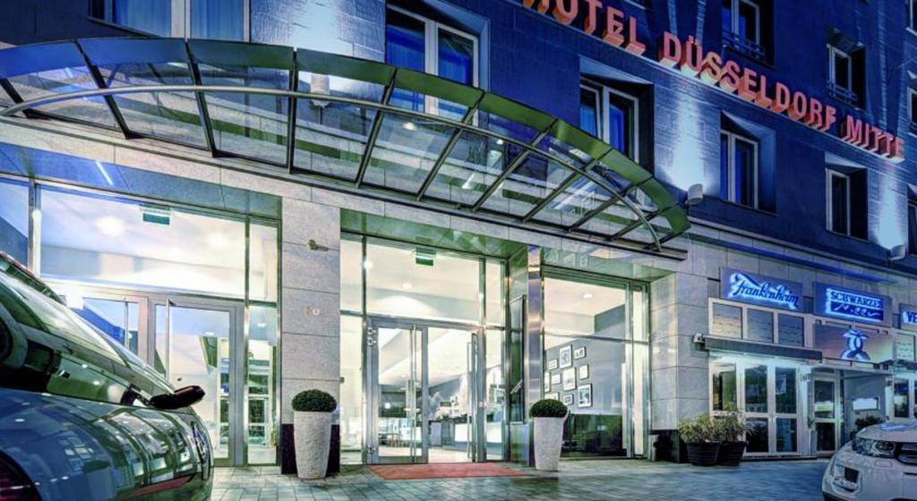 hotel d sseldorf mitte d sseldorf informationen und buchungen online viamichelin. Black Bedroom Furniture Sets. Home Design Ideas