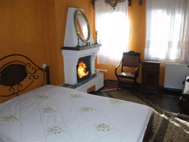 Economy Double Room with Fireplace Mansion & Home Margaritis