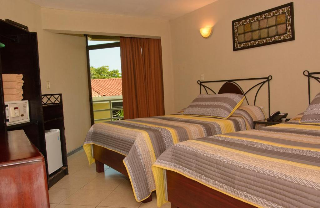Superior Double Room with Two Double Beds Balcon del Mar Beach Front Hotel