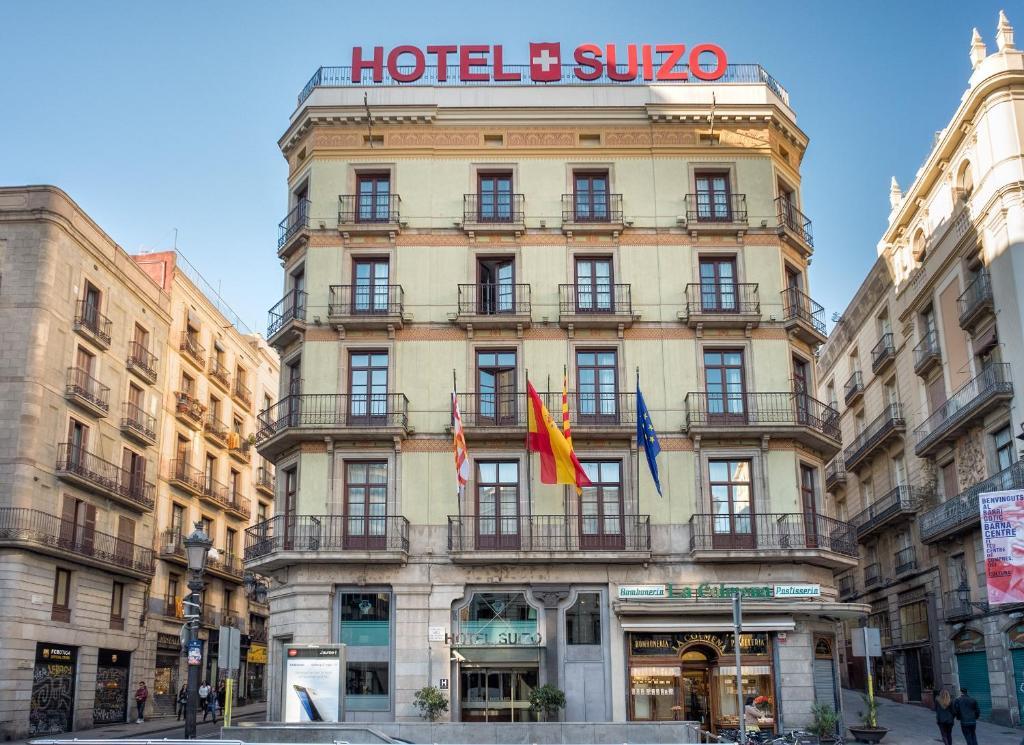Hotel suizo barcellona prenotazione on line viamichelin for Prenotare hotel barcellona