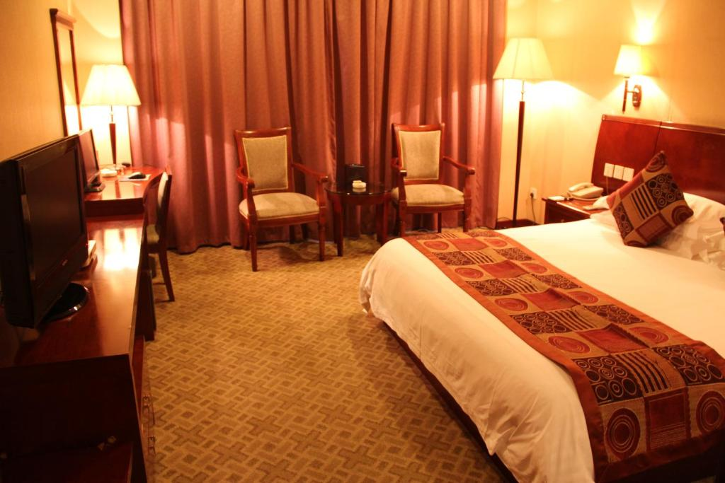 Business Single Room A Wenzhou Jinsidun Hotel