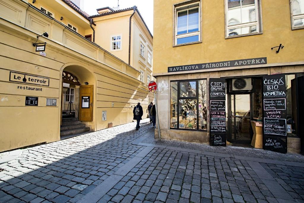 Ruterra Flat in Prague's Heart