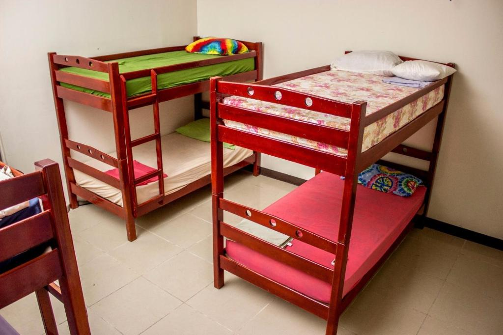 Bed in 10-Bed Male Dormitory Room