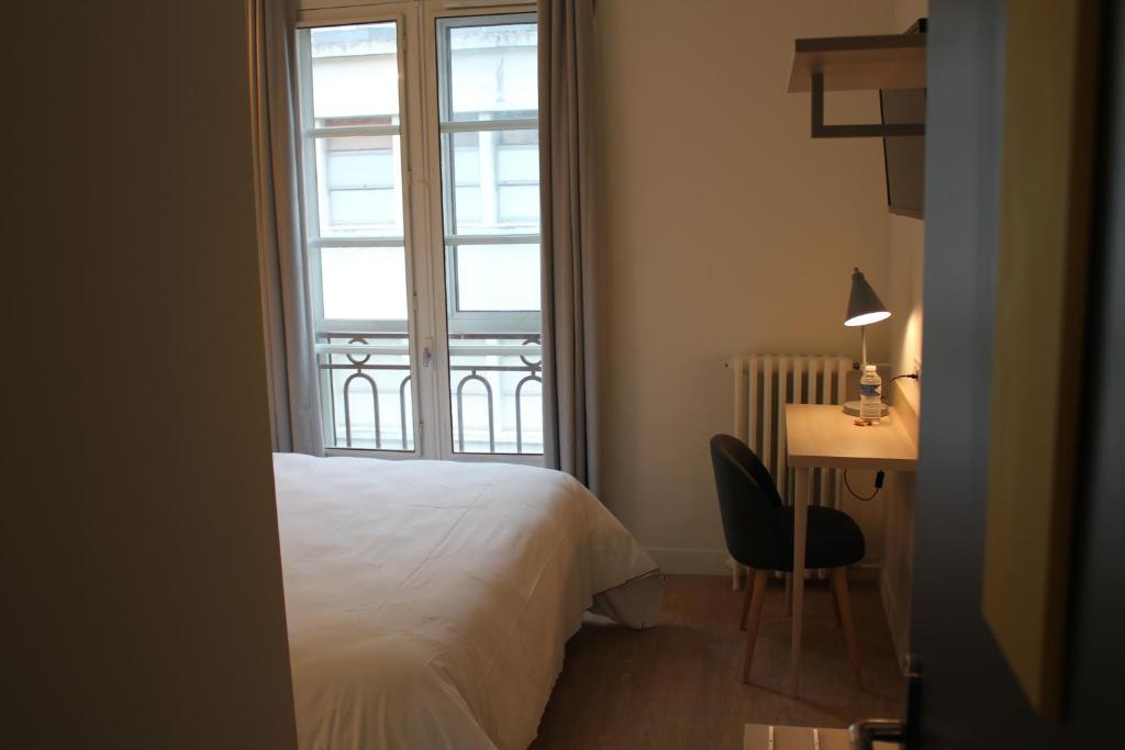 h tel la fontaine caen centre caen online booking viamichelin. Black Bedroom Furniture Sets. Home Design Ideas