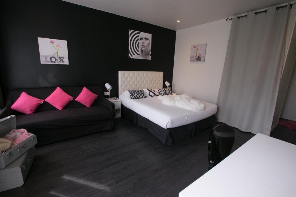 Id al h tel design r servation gratuite sur viamichelin for Hotel design sur paris