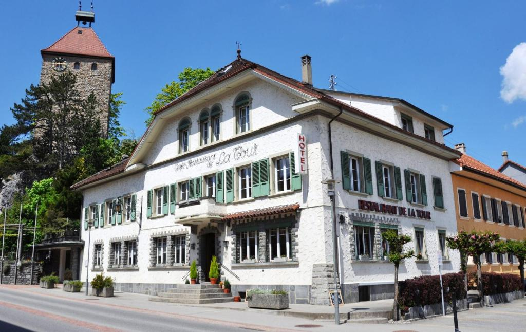 Hotel Restaurant De La Tour Bulle