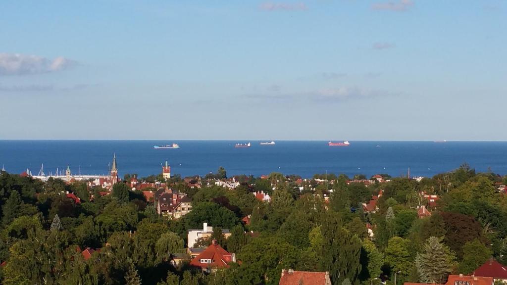noclegi Sopot Apartament z widokiem na Bałtyk