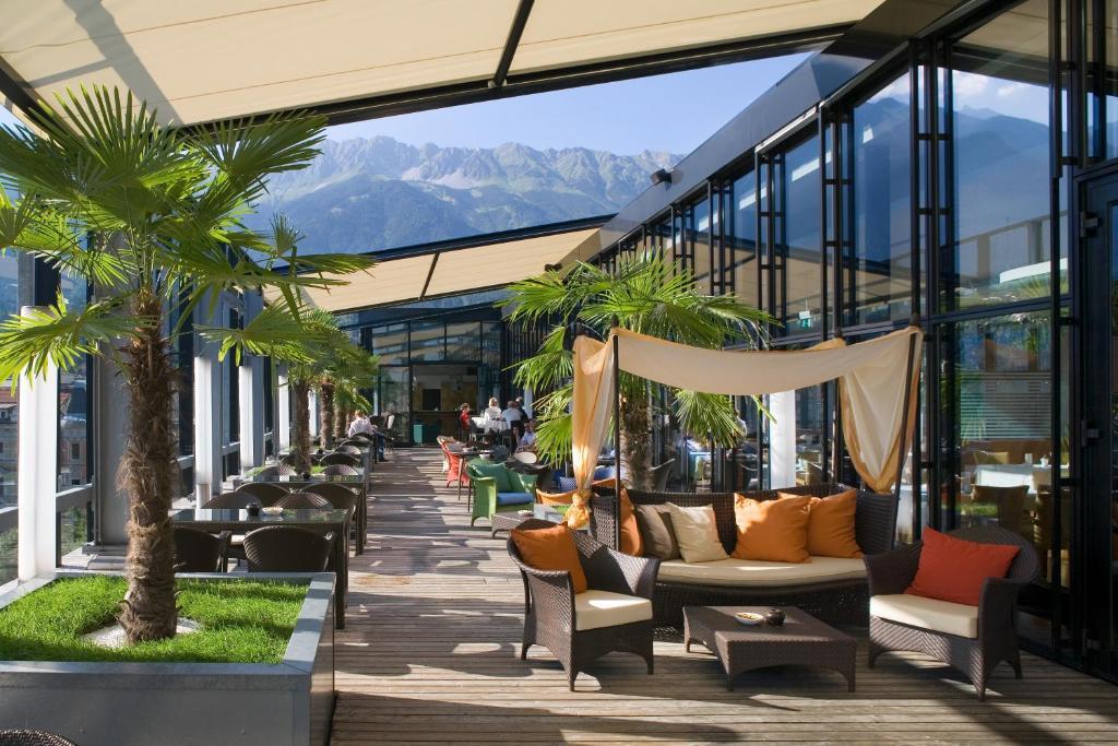 The penz hotel innsbruck online booking viamichelin for Design hotel innsbruck