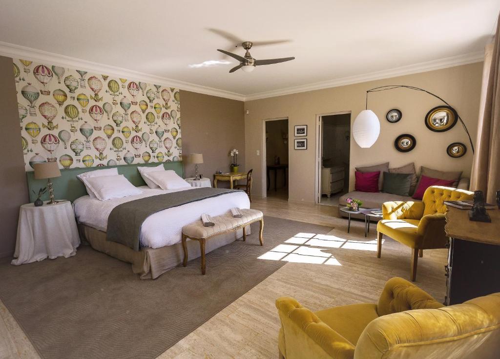 domaine de fos uz s online booking viamichelin. Black Bedroom Furniture Sets. Home Design Ideas