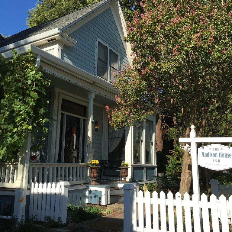 The Madison House Bed And Breakfast Nevada City Ca