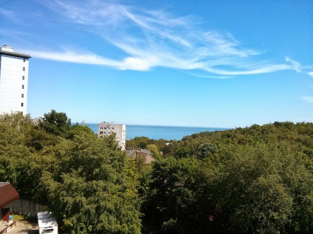 noclegi Gdynia Apartament z widokiem na morze