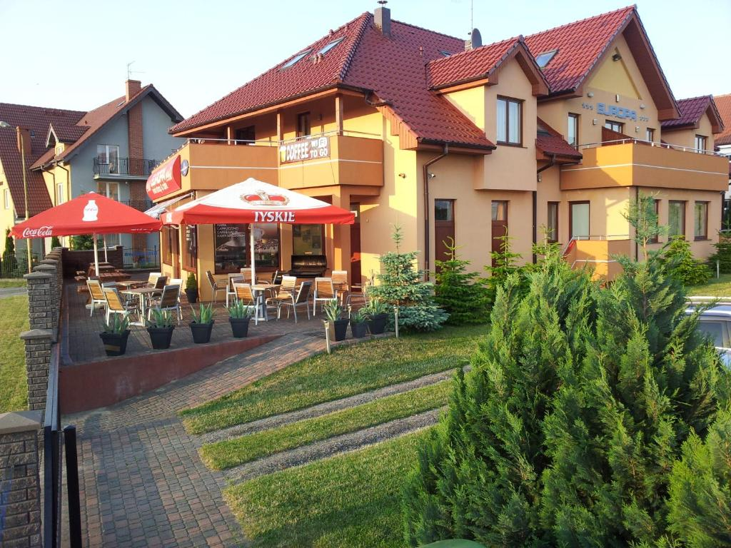 noclegi Rewal Holiday House Europa