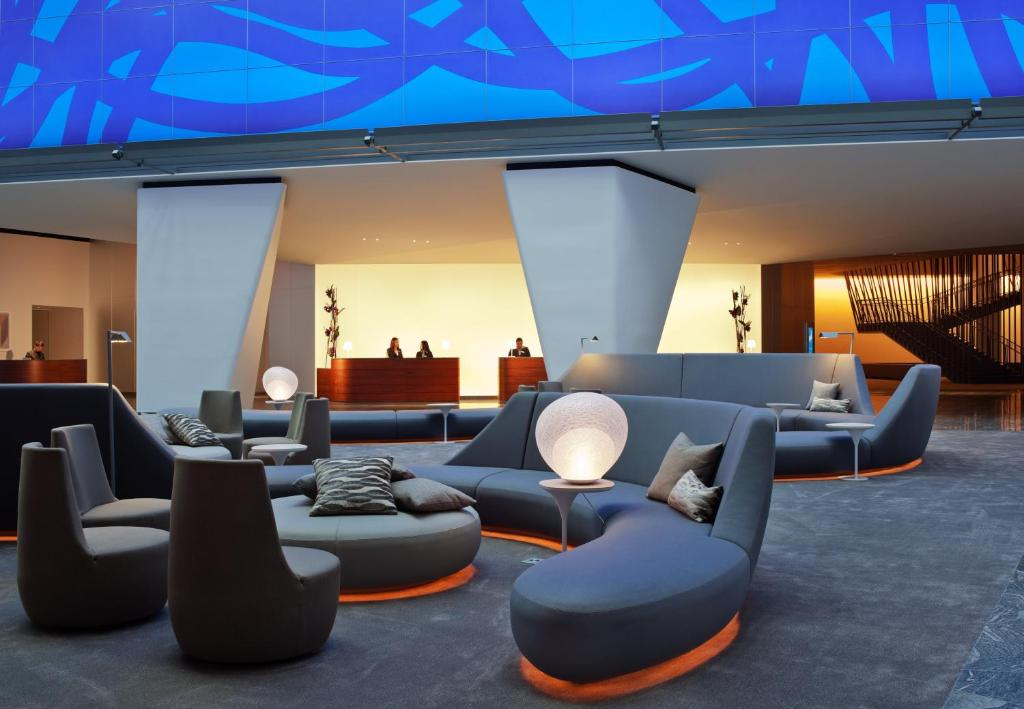 Conrad Hotels lobby
