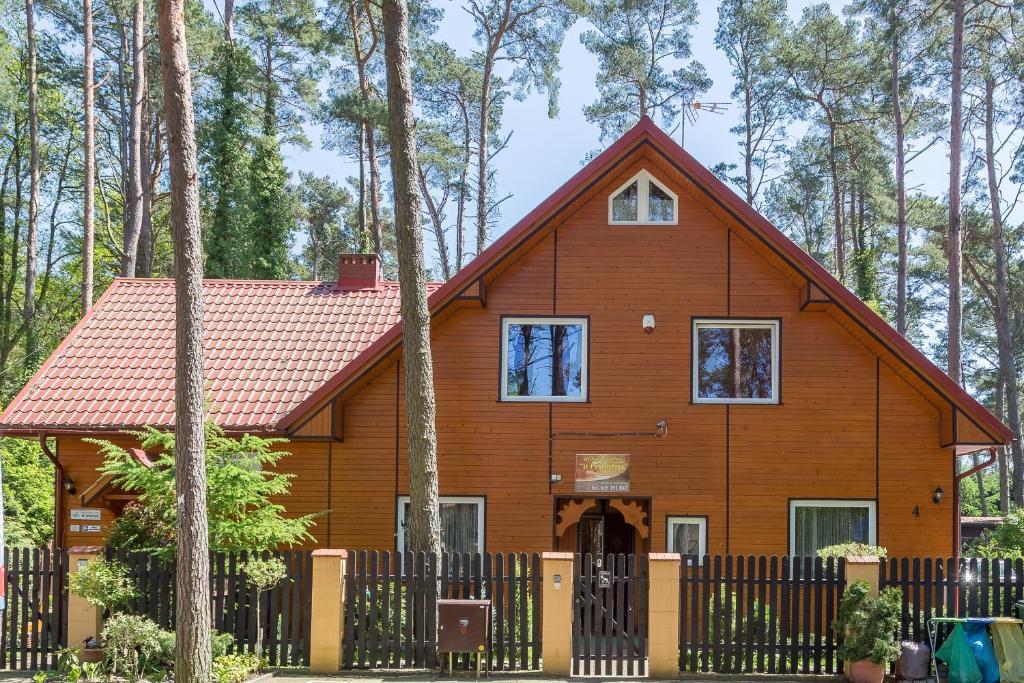 noclegi Pobierowo Gästehaus u Pediatry