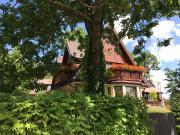 Domek w Górach Przy Potoku