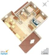 Apartments with a parking space Mandre Pag 524
