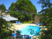 Attractive Provencal villa with heated private pool and extensive views