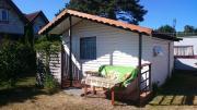 DOM BURSZTYNEK domek drewniany