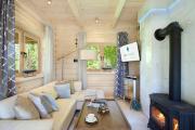 SeaUSasino Dom Ocean Luksusowe Drewniane Domy z Kominkami