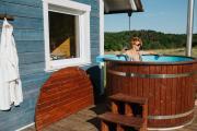 Czaplowisko domki z sauną na Kaszubach