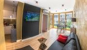 Galaxy Garden Apartment Cracow Shopping Mall 1min Underground Parking Family Friendly City Center