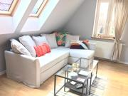 Attic Apartment Gdansk Downtown