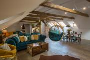Old Town BohoChic Attic with Hanging Chair
