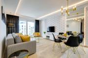 BlackWhite Apartment Apart Studio