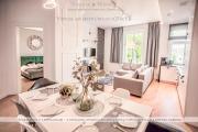 Luxury Wonder Heaven Family Apartment 50m od M Cassino parking na pilota 2 apartamenty 17 18 osób