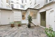 Small house near the Eiffel Tower