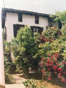 Charmigt hus med trädgård 40 m från stranden