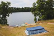 Domki nad jeziorem Mieruniszki
