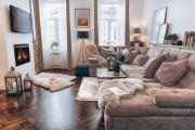 Scandinavian style of Lux Apartments in Lviv