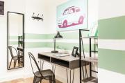 Colorful Citybreak studio in Athens city center