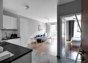 WarszawaWłochy Sunlit Apartment