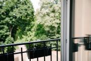 Przytulny apartament w centrum starego miasta z widokiem na ogród