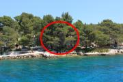 Seaside secluded apartments Lavdara Dugi otok 8114