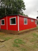 Domek czerwony