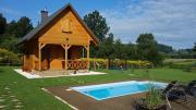 Domek Skowronek z basenem