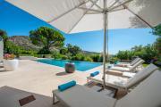 Luxueuse villa splendide vue mer Golfe SaintTropez