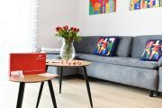 Apartament El Rojo z garażem