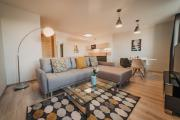 New luxurious apartment in the city centre