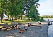 Domki oraz pokoje nad jeziorem Boksze na Suwalszczyźnie