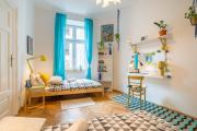 Blue Peaceapartment for 6 people in center