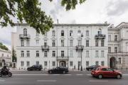 The prestigious street of Warsaw tasteful apartment in an old tenement house