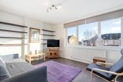 Modern OneBed Apt wCosy interior close to Tube