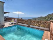 Cozy holiday home with beautiful terrace panoramic views WiFi and private pool
