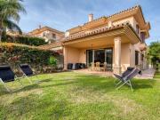 Peaceful Holiday Home in Sitio de Calahonda with Garden