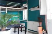 Mini Loft Balkonbett mit Wasserblick Deluxe